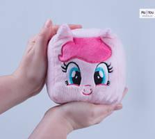 [For Sale] Pinkie Pie Plush Cube by meplushyou