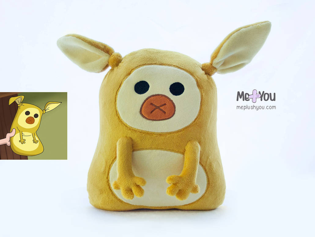 Mr. Hicklepips plush (The 7D) by meplushyou