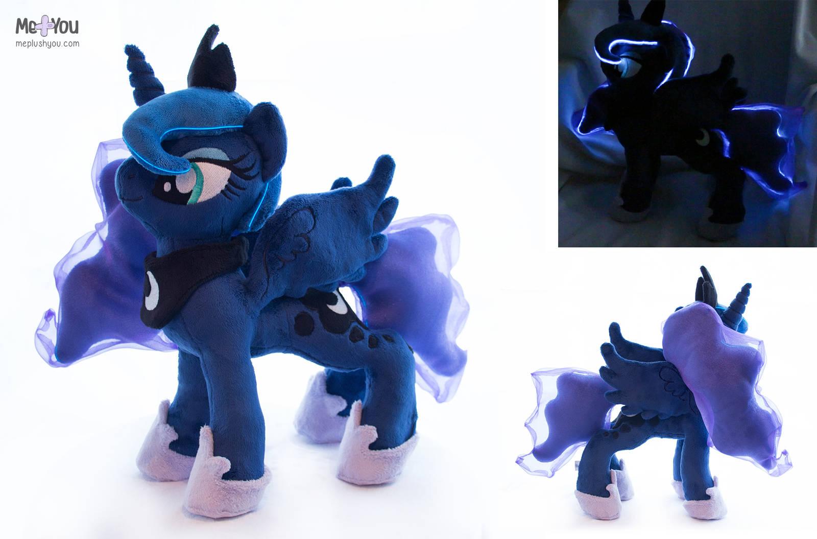 Light up Luna Plush by meplushyou