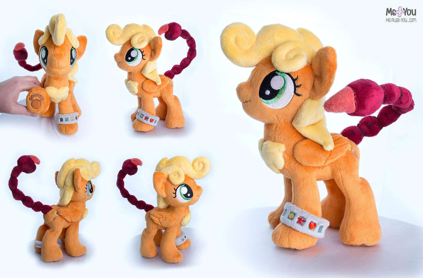 Manticore pony! by meplushyou