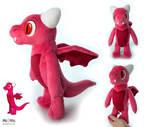 Peewee the Dragon plush