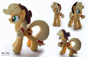 Applejack plush by meplushyou