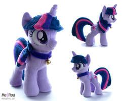Twilight Sparkle plush by meplushyou