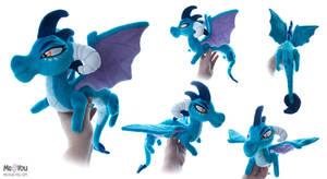 Princess Ember - Shoulder Dragon plush by meplushyou