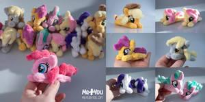 Tiny ponies! by meplushyou