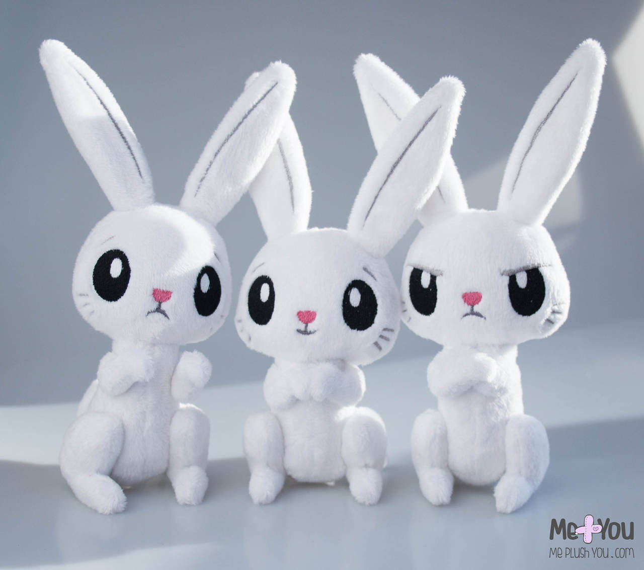 Angel bunnies by meplushyou