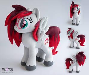 Taytay (Pony OC plush) by meplushyou