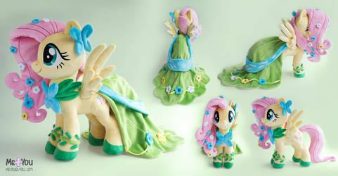 Gala Fluttershy plush by meplushyou