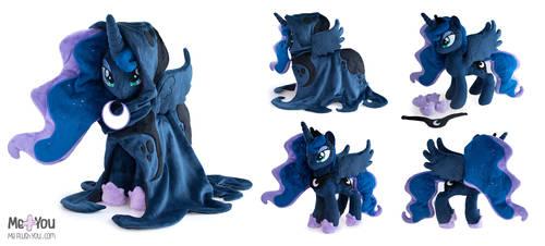 Princess Luna plush - Spirit of Hearth's Warming by meplushyou