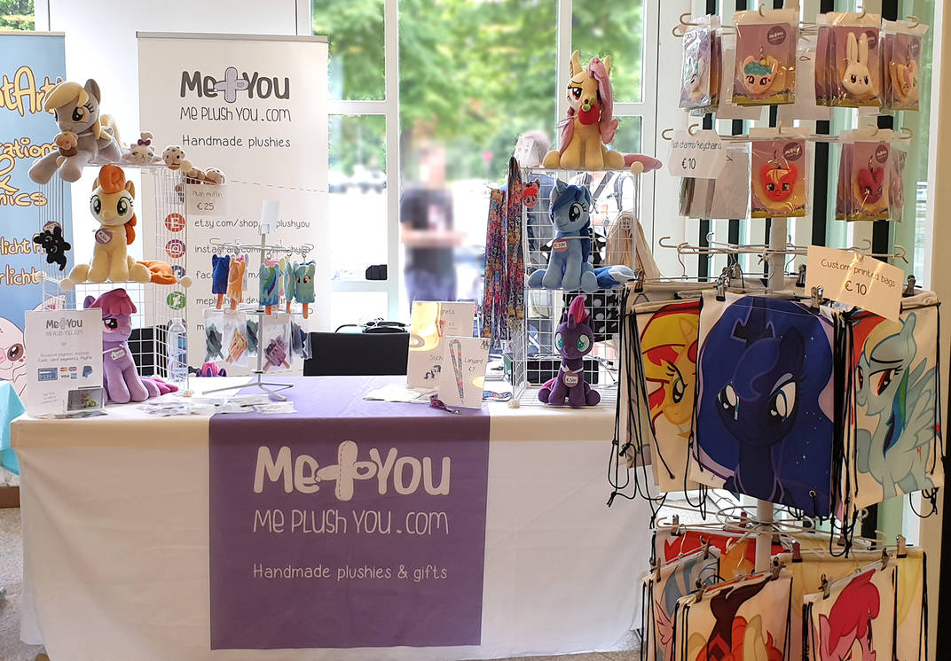 Galacon 2019 booth by meplushyou