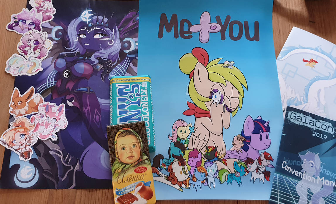 Con loot! :D by meplushyou