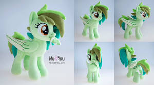 Lime pony plush