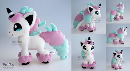 Galarian Ponyta plush