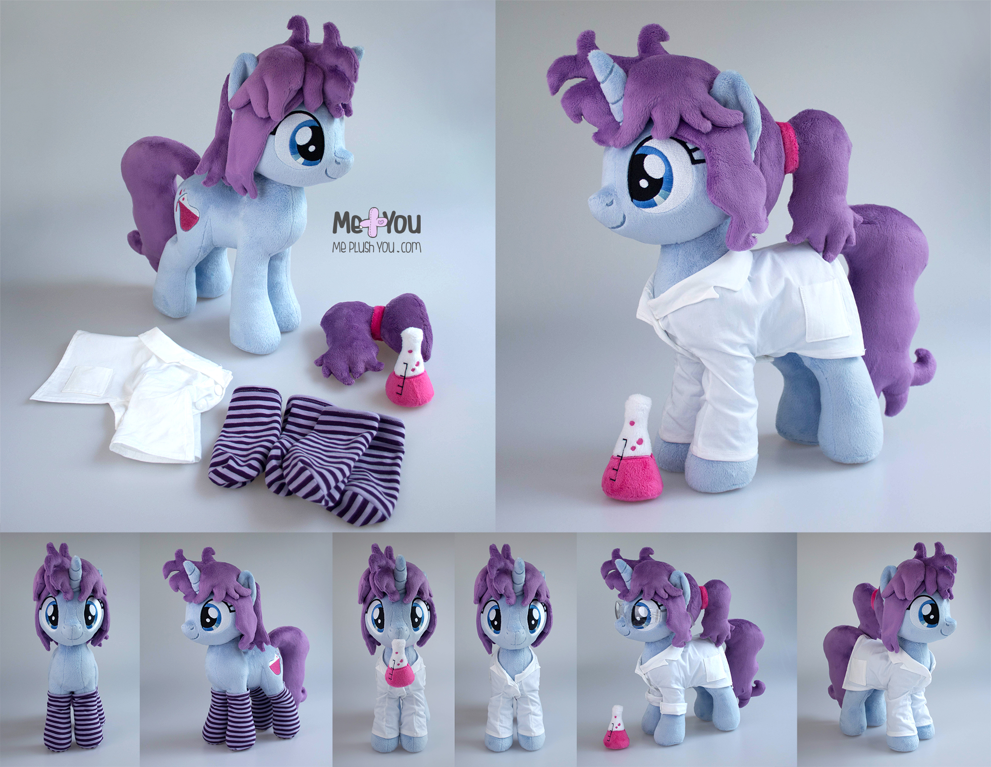 Blithe: One pony, two looks!