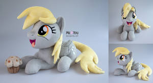 Open mouth Derpy plush