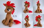 Pixel Grip Pony OC Plush