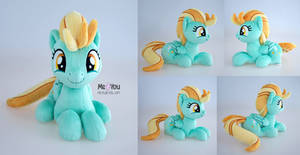 Lightning Dust plush