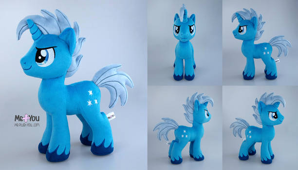 Nightfall Gloam Pony OC plush
