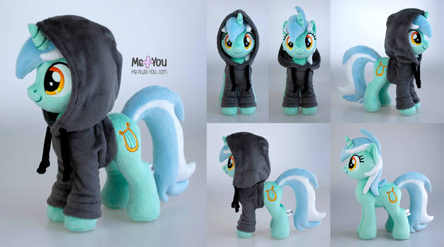 Lyra Heartstrings plush with hoodie