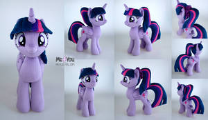 Twilight Sparkle with a ponytail plush
