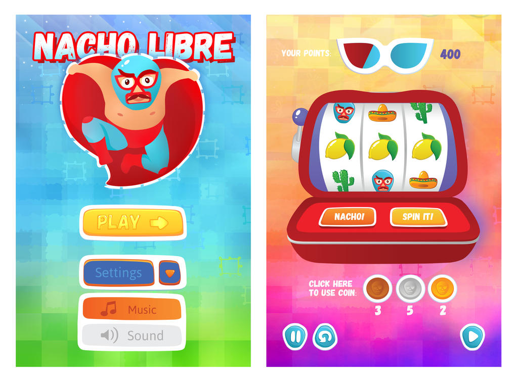 nacho libre game by blanco-erizo