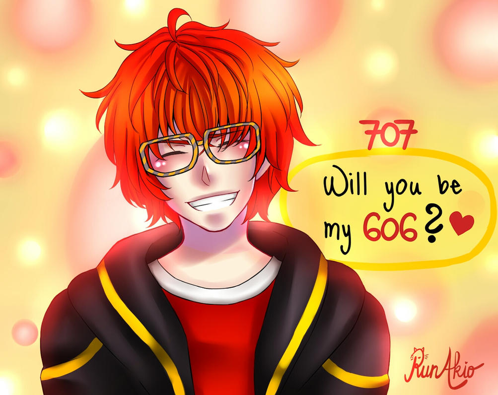 'Will you be my 606?' by runakio