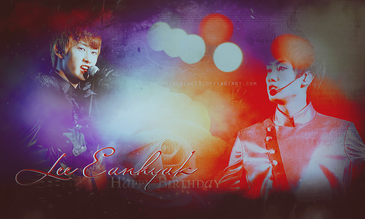 Happy Birthday Eunhyuk ~! by sapphireblue13