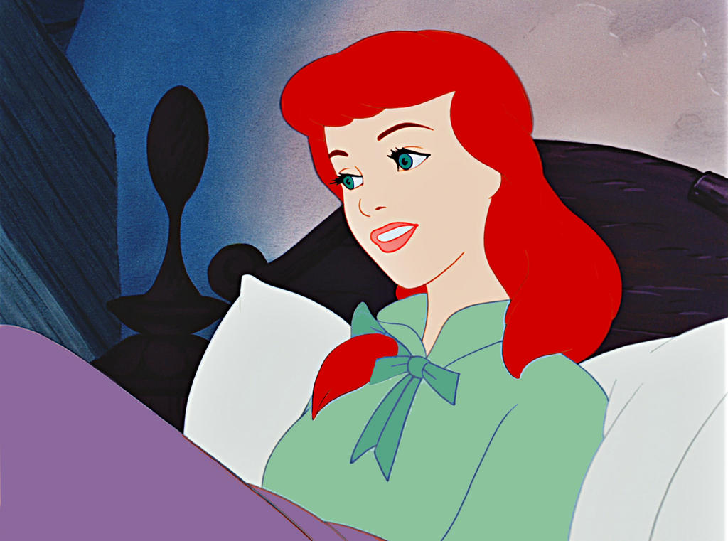 Cinderella is a redhead virgin