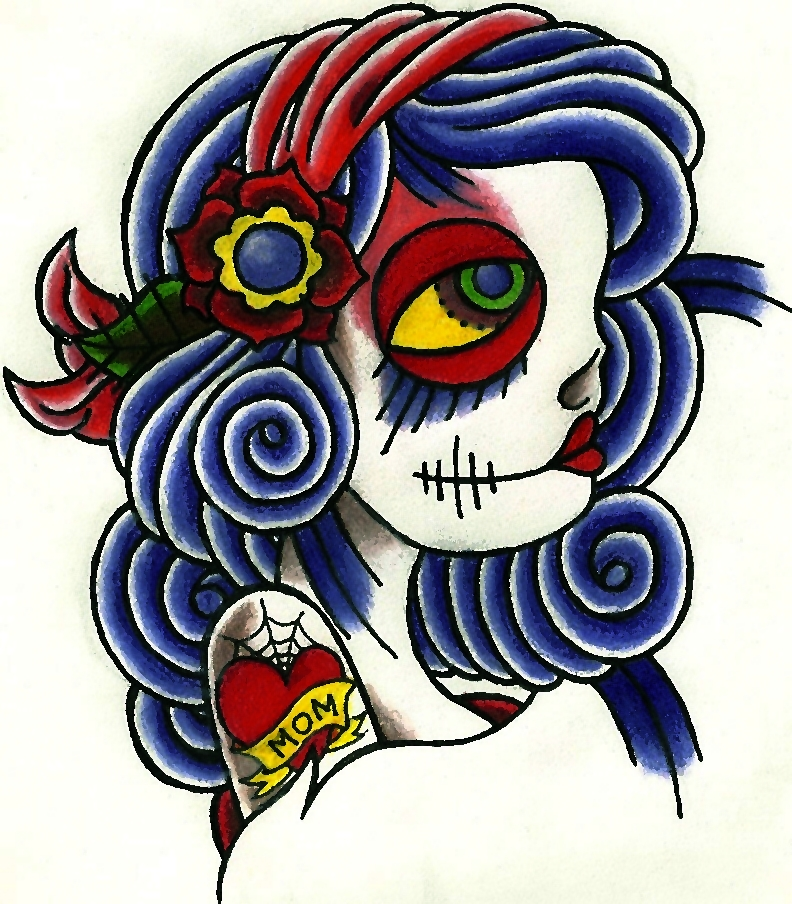 Day Of The Dead Girl By DanJNob