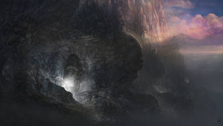 Wall of the old gods by Friis