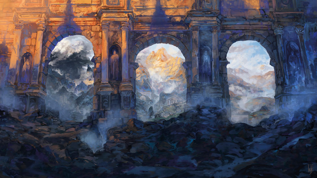 Strange places, Arches by Friis