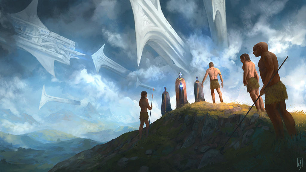 They Came From Above by Friis