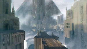 City sketch by Friis