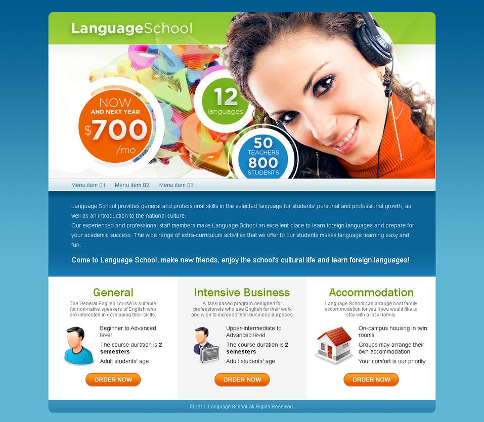 Language school by blackblurrr