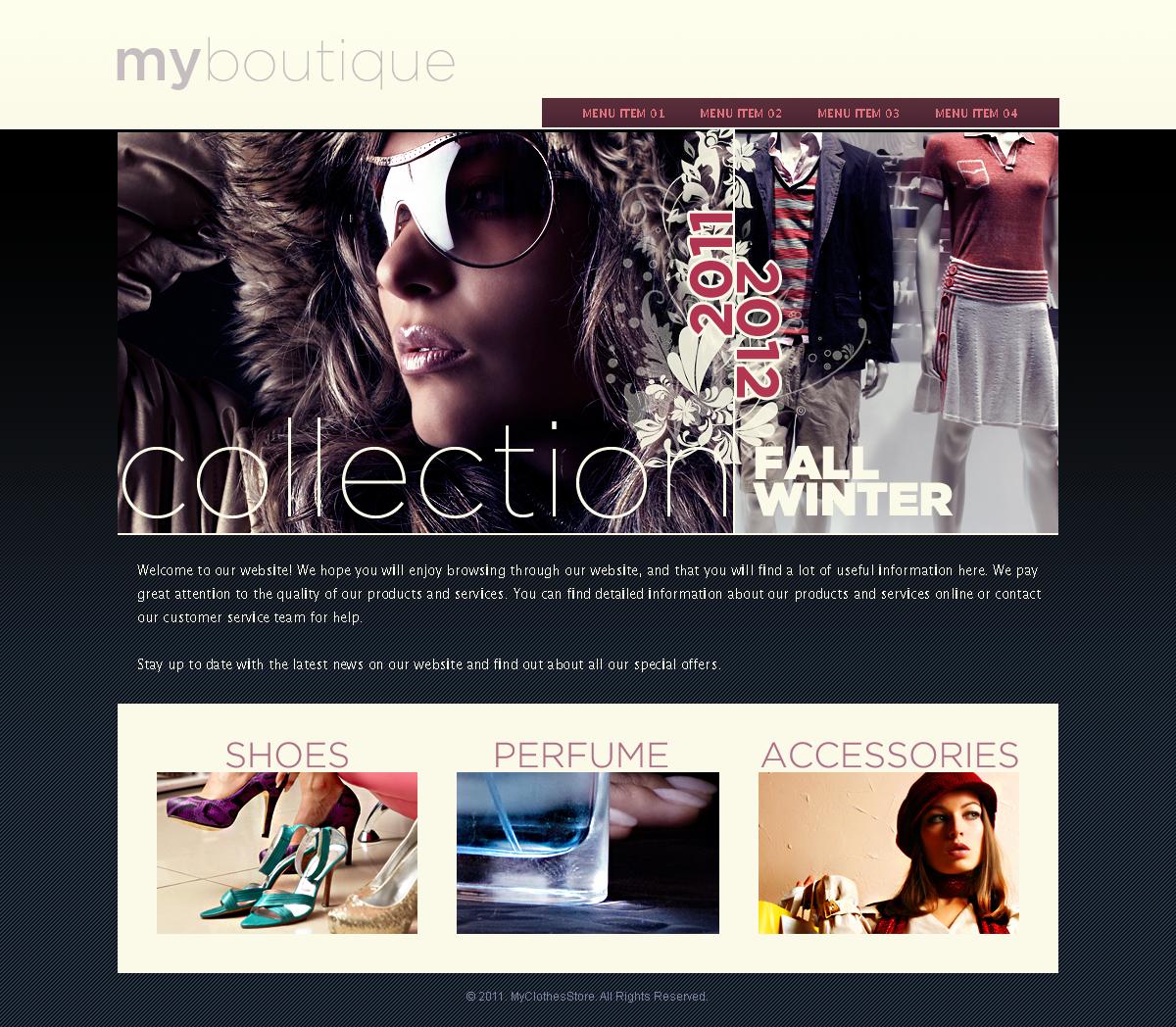 Online boutique by blackblurrr