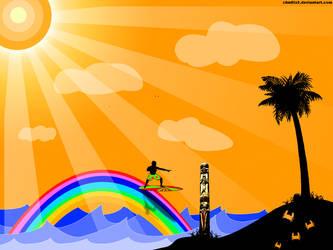 Rainbow Island by Z4m0lx3