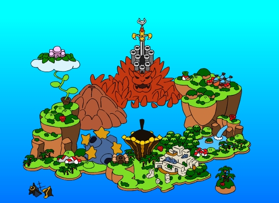 Mario rpg map by tsurugikage on deviantart mario rpg map by tsurugikage gumiabroncs Image collections