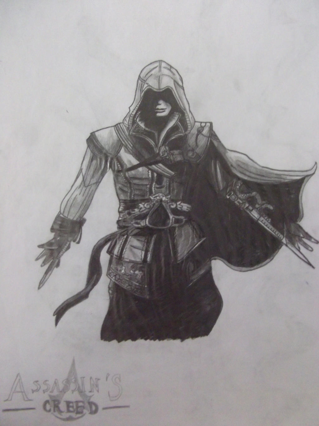 Ezio (Assassins Creed) by Snowleonheart