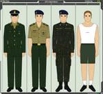 Brazilian Army Uniforms - EsPCEx