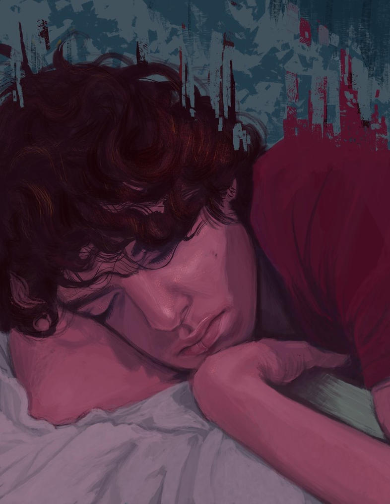 The boy who fell asleep with a book by Addictions