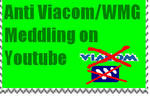 Anti-Viacom and WMG Stamp by PsychoDemonFox