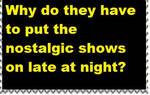Late-Night Nostalgia Stamp by PsychoDemonFox