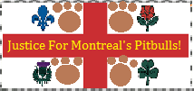 Justice For Montreal's Pitbulls Stamp by PsychoDemonFox