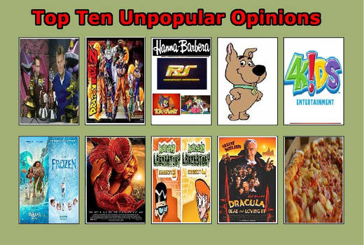 Unpopular Opinions Meme