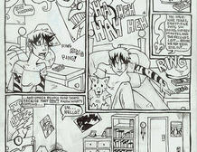 Comic page progress animation2 by sabretoothlioness
