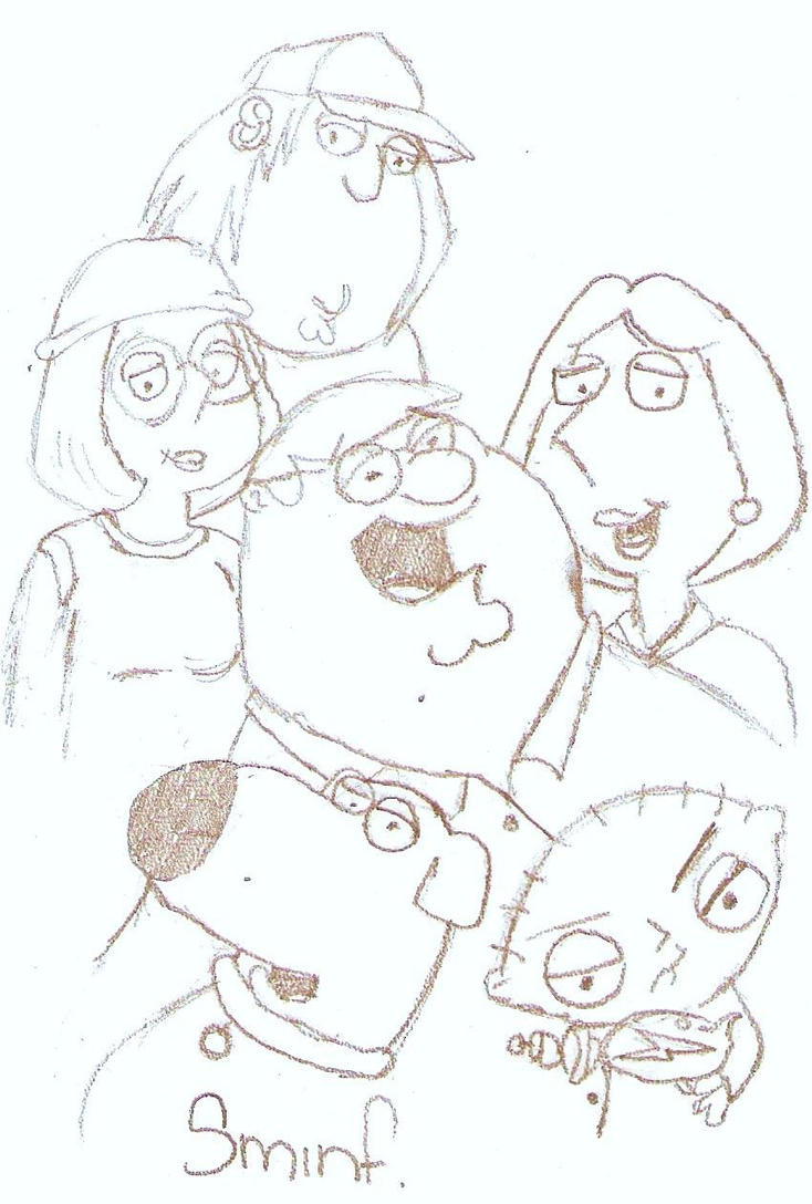 Family guy sketch by Sammi-is-loveable on DeviantArt