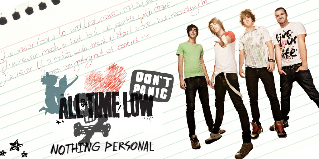 All Time Low Wallpaper 3 by oOSakuruOo on DeviantArt
