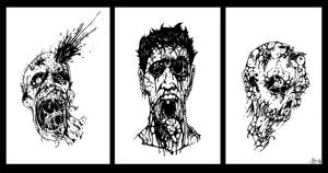 Zombies by patrickianmoss