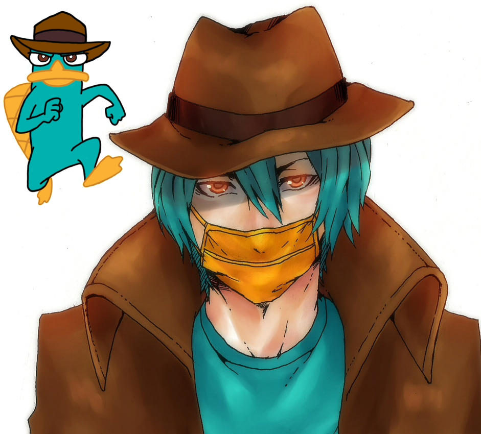 Perry the platypus by kuroharra on deviantart perry the platypus by kuroharra voltagebd Images