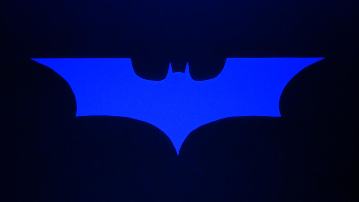 Batman The Dark Knight Logo Uv Light By Scannerdarkly86 On Deviantart